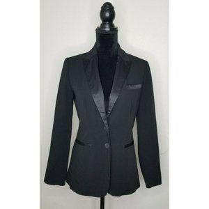 Lauren Conrad Size 4 Lined Black Blazer Pre Owned